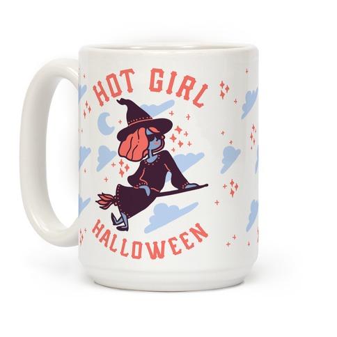 Hot Girl Halloween Coffee Mug