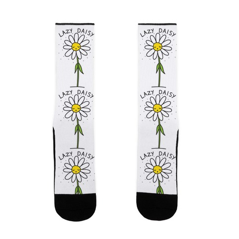 Lazy Daisy Sock