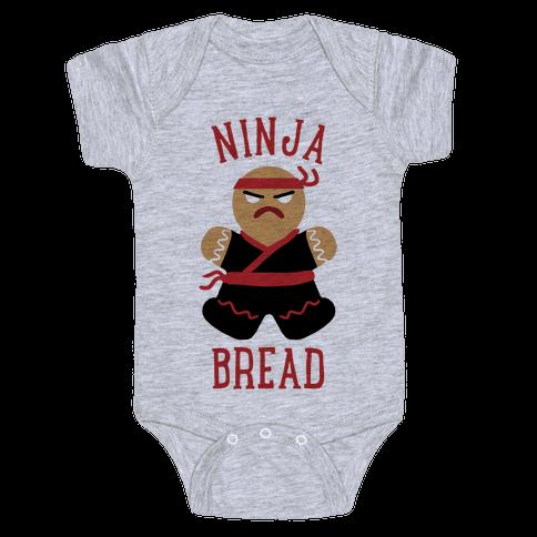 Ninja Bread Baby Onesy
