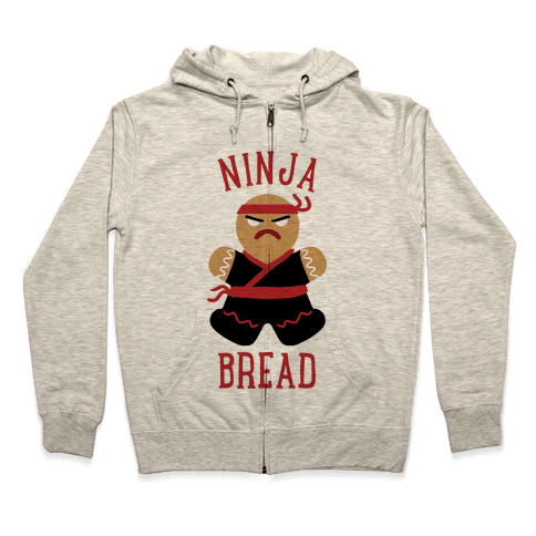 Ninja Bread Zip Hoodie