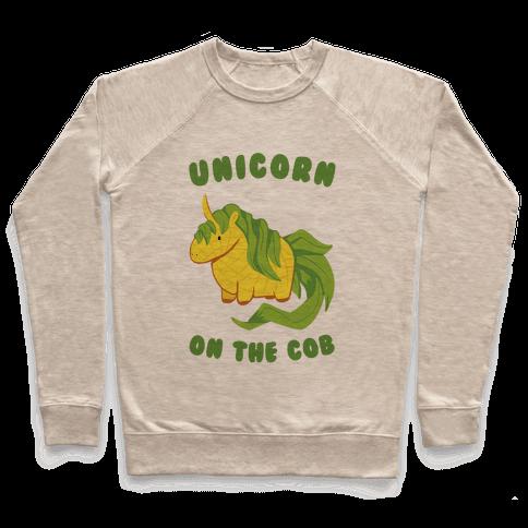 Unicorn On The Cob Pullover