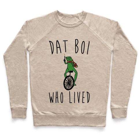 Dat Boi Who Lived Parody Pullover