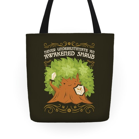 Awakened Shrub Tote