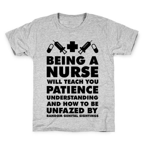Being a Nurse Kids T-Shirt