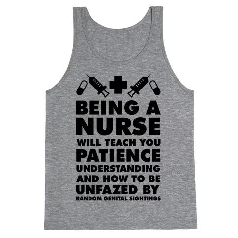 Being a Nurse Tank Top