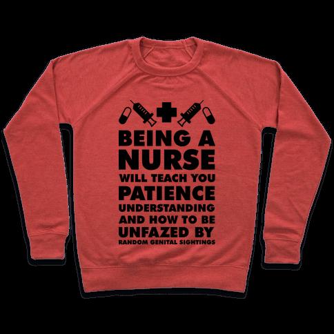 Being a Nurse Pullover