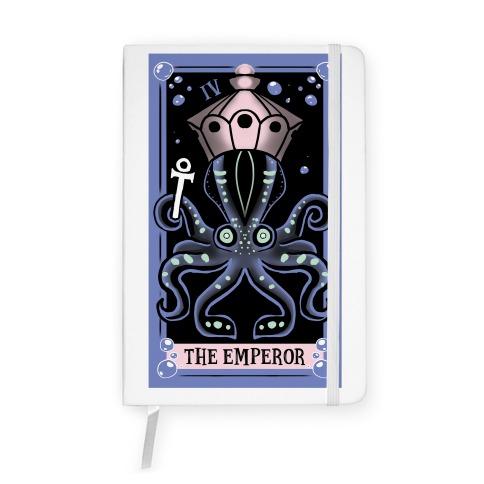 Creepy Cute Tarots: The Emperor Notebook
