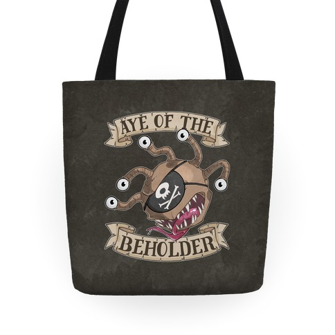 Aye Of The Beholder Tote