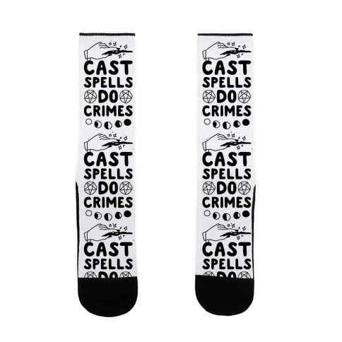 Cast Spells Do Crimes Sock