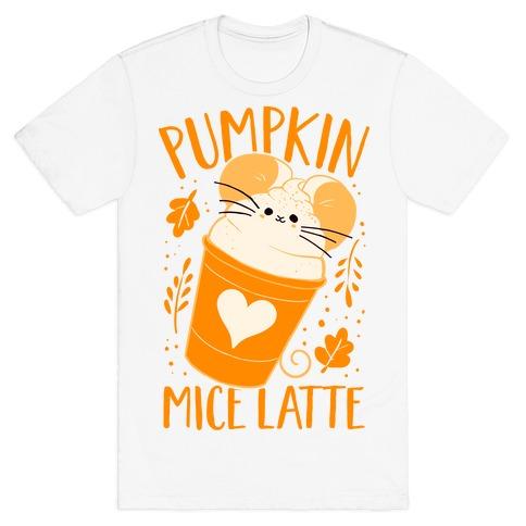 Pumpkin Mice Latte T-Shirt