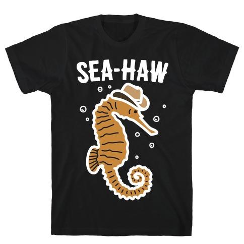 Sea Haw Seahorse Cowboy T-Shirt