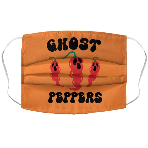 Ghost Peppers Accordion Face Mask