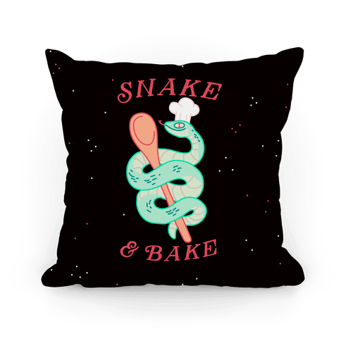 Snake and Bake Pillow