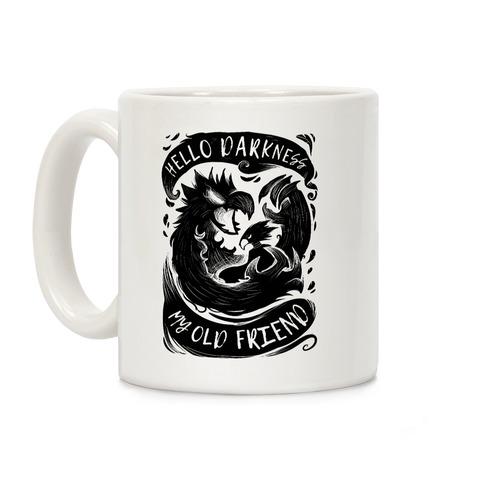 Tokoyami Hello Darkness My Old Friend Coffee Mug