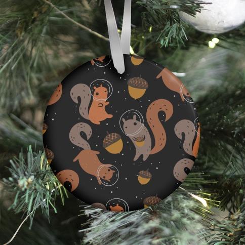 Squirrels In Space Ornament