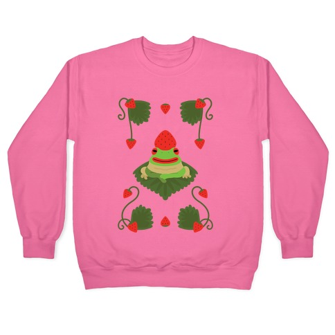 Strawberry Frog Pullover