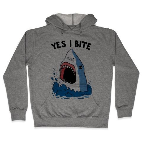Yes I Bite (CmYK) Hooded Sweatshirt
