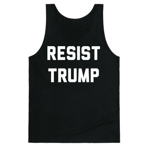 Resist Trump Tank Top