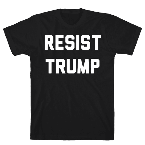 Resist Trump Mens T-Shirt