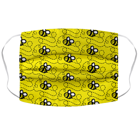 Busy Bee Face Mask Cover