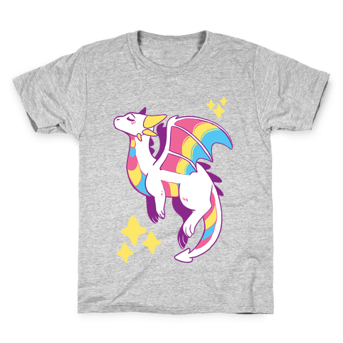 Pan Pride Dragon Kids T-Shirt