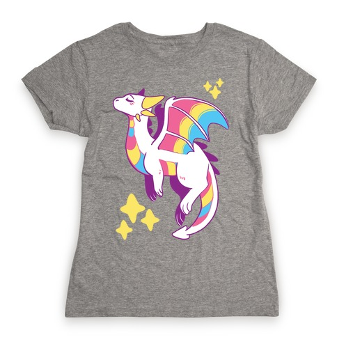 Pan Pride Dragon Womens T-Shirt