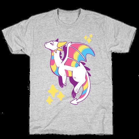 Pan Pride Dragon Mens/Unisex T-Shirt