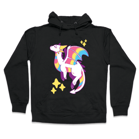 Pan Pride Dragon Hooded Sweatshirt