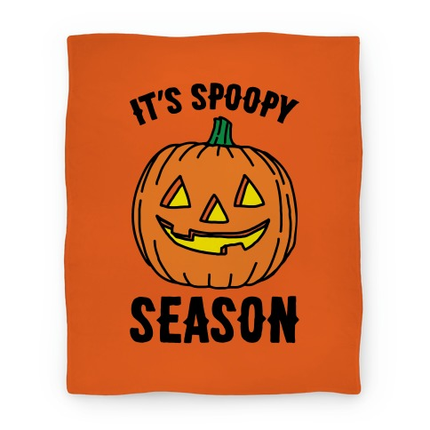 It's Spoopy Season Blanket