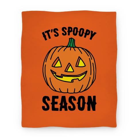 It's Spoopy Season  Blanket