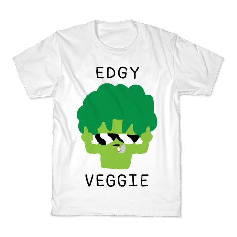 Edgy Veggie Kids T-Shirt
