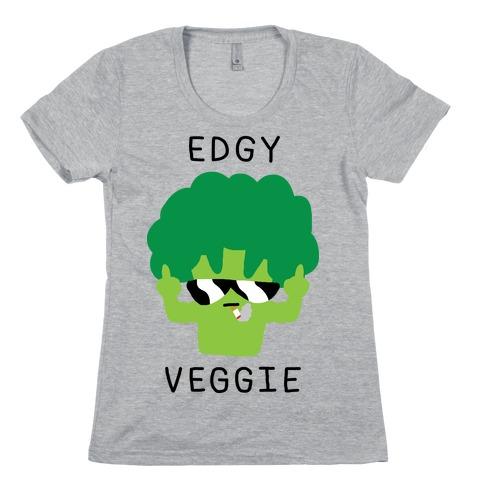 Edgy Veggie Womens T-Shirt