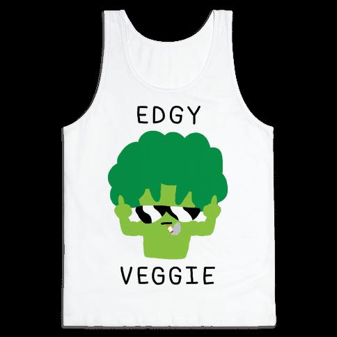 Edgy Veggie Tank Top