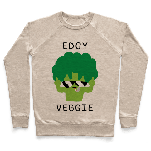 Edgy Veggie Pullover