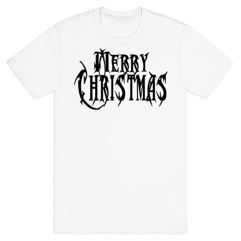 Merry (Metal) Christmas T-Shirt
