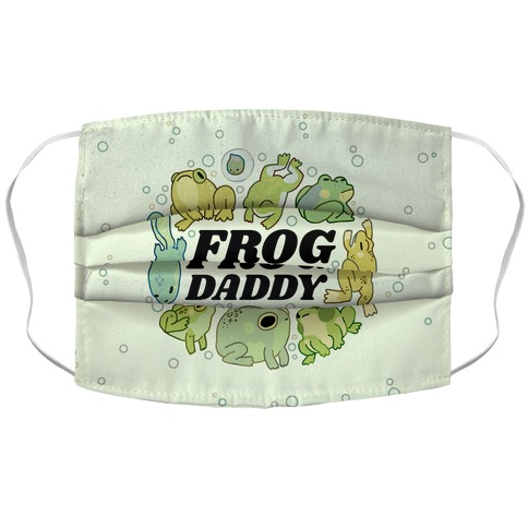 Frog Daddy Accordion Face Mask
