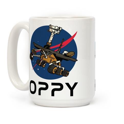 Oppy Nasa Parody Logo Coffee Mug