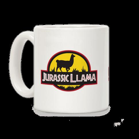 Jurassic Llama Coffee Mug