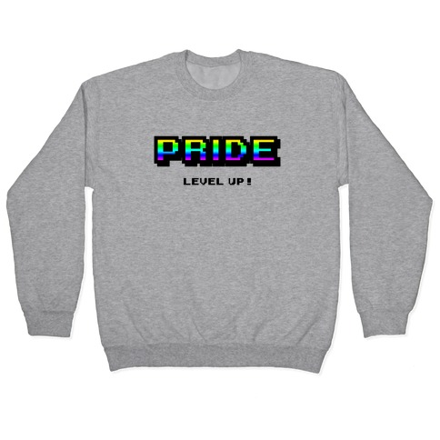 Pride Level Up! Pullover