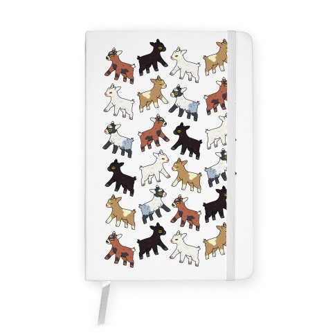 Baby Goats On Baby Goats Pattern Notebook