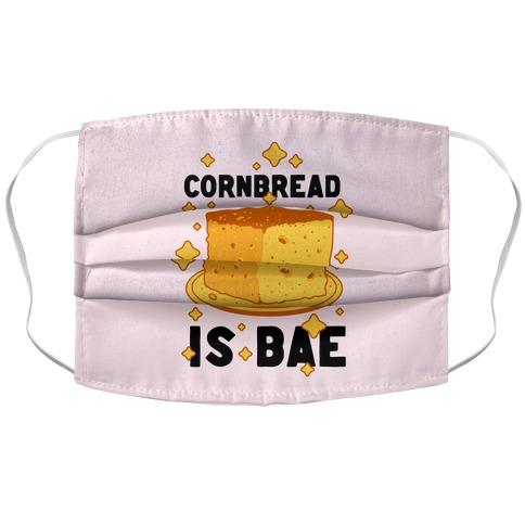 Cornbread is Bae Accordion Face Mask