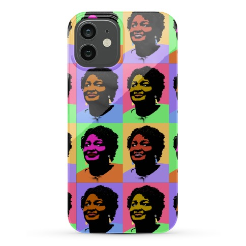 Pop Art Stacy Abrams Phone Case