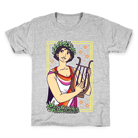 Sappho, Our Lady of Lesbians Kids T-Shirt