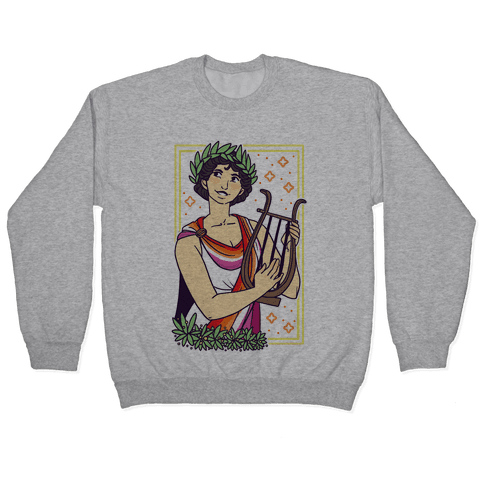 Sappho, Our Lady of Lesbians Pullover