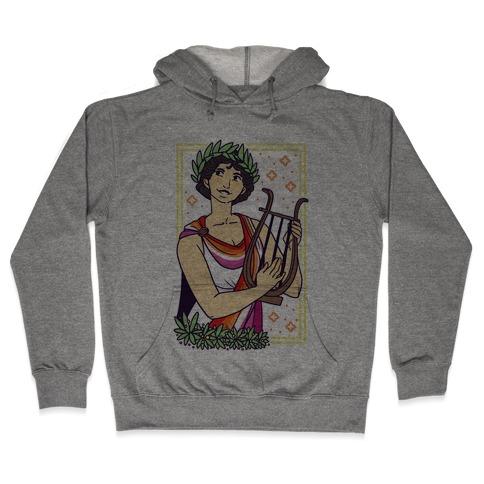 Sappho, Our Lady of Lesbians Hooded Sweatshirt
