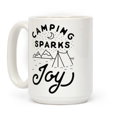 Camping Sparks Joy Coffee Mug