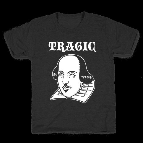 Tragic (Shakespeare) Kids T-Shirt