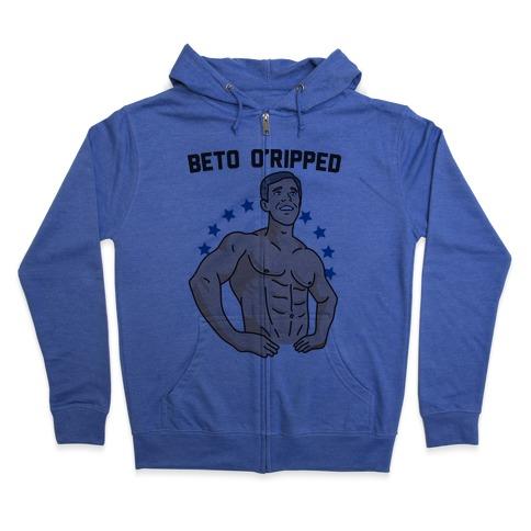 Beto O'Ripped Zip Hoodie