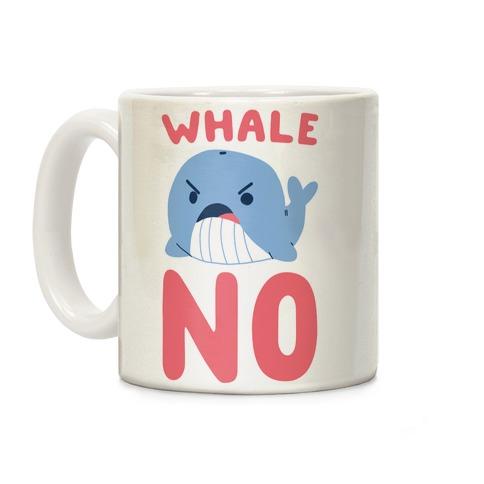 Whale No Coffee Mug