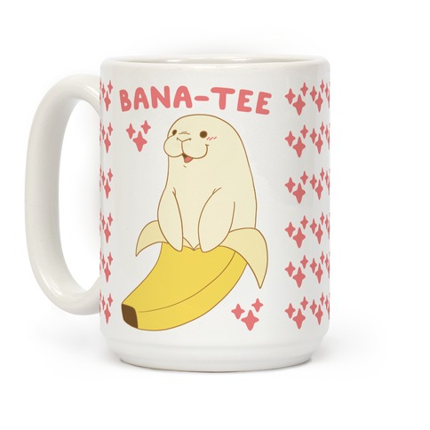 Bana-tee - Manatee Coffee Mug